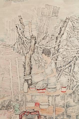 YUN-FEI JI, Lot Number 295,2018 (detail)