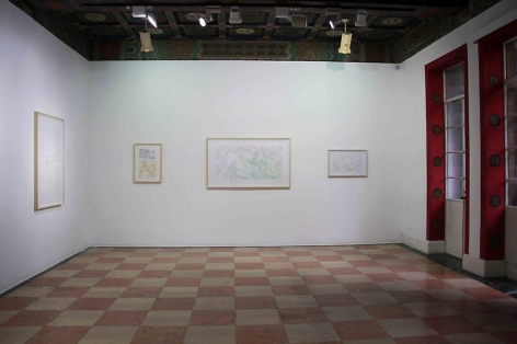 Ingrid Calame Drawings & Mark Strand Collages, Madrid & New York