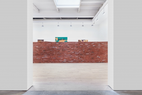 Borders, installation view at James Cohan, 533 West 26 Street, January 10 - February 23, 2019.