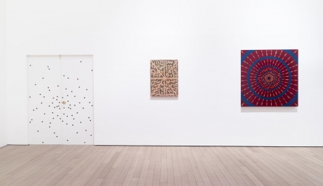 , Gallery 2.2 (l-r): Big Bang (reverse side), X Will Fade and Kaboom