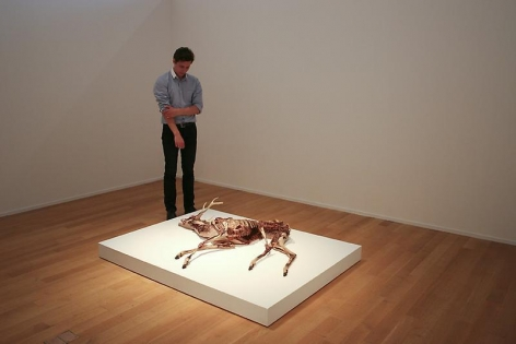 ERICK SWENSON Ne Plus Ultra, 2010 (with figure for scale)