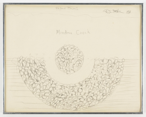 ROBERT SMITHSON Moodna Creek, Island Project