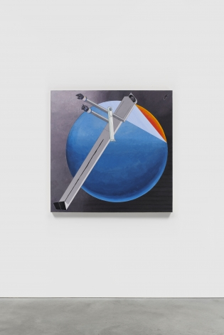 MERNET LARSEN Astronauts: Sunset (after El Lissitzky),2020