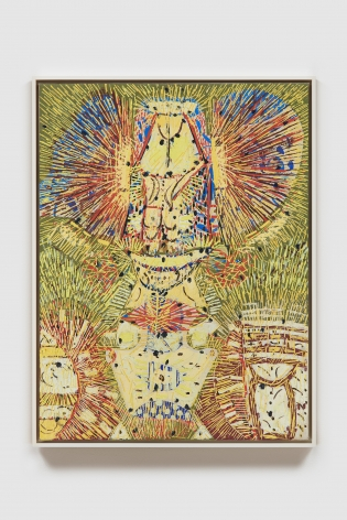 LEE MULLICAN, Untitled (The Owl)
