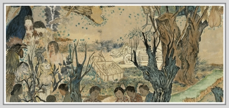 Yun-Fei Ji at the Addison Gallery of American Art