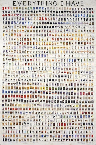 SIMON EVANS Everything I Have, 2008