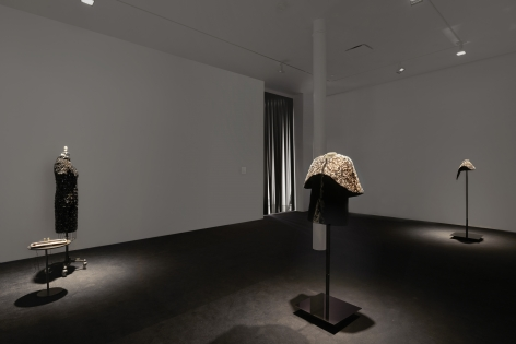 Installation view, Teresa Margolles,El asesinato cambia el mundo / Assassination changes the world,James Cohan, 48 Walker Street, January 10 - March 1, 2020