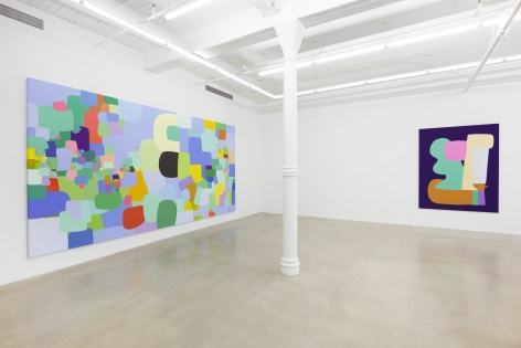 Installation view,Federico Herrero,Volume,291 Grand Street, January 17 - February 23, 2020