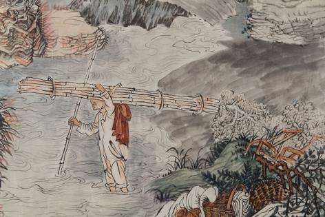 YUN-FEI JI, The Processions, 2017-2018 (detail)