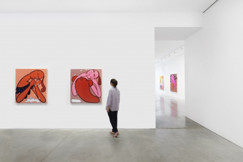 Installation view, Grace Weaver:STEPS,48 Walker St, July 15 - September 12, 2020