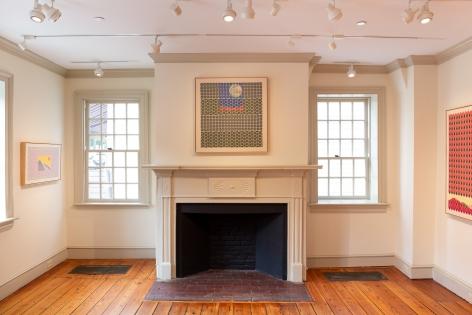 JORDAN NASSAR, Installation View,Between Sky and Earth,Art@Bainbridge at Princeton University, Princeton, New Jersey, October 2019