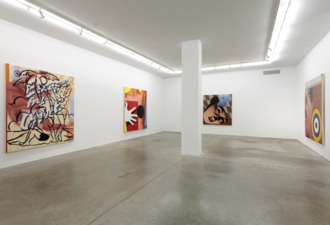 Paintings from the 80's, Andrew Kreps Gallery, New York, March 29 - May 12, 2012