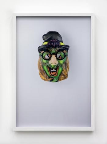 Jamie Isenstein Masks Wearing Masks (Green Witch Groucho), 2015
