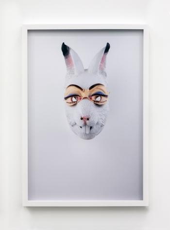 Jamie IsensteinMasks Wearing Masks (Rabbit Bunny),2015C-Print24 1/4 x 16 5/8 in (61.6 x 42.2 cm)Edition of 4, with 1 AP