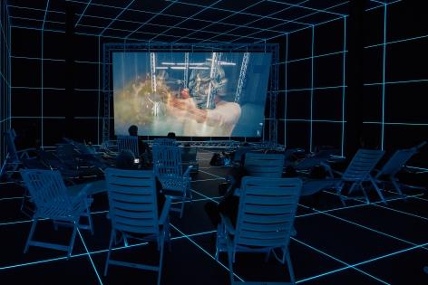 Fabrik,German Pavillion, 56th Venice Biennale, Venice, May 9 - November 22, 2015