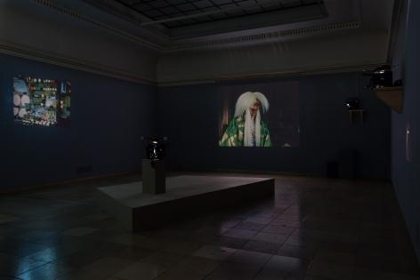 Kapsel 05: João Maria Gusmão & Pedro Paiva. Peacock,Haus der Kunst, Munich