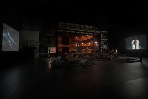 BoCA - Biennial of Contemporary Arts, Teatro Nacional D. Maria II, Subpalco, Lisbon