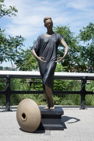 Frank Benson Human Statue (Jessie), 2011