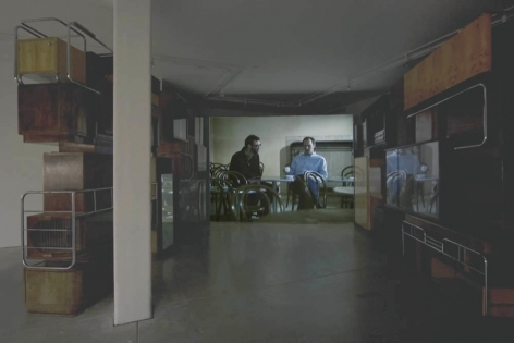 """He: """"HaveYouBeen There...?"""", She: """"He Said After A While"""",Andrew Kreps Gallery, New York, November 21, 2007 - January 17, 2008"""