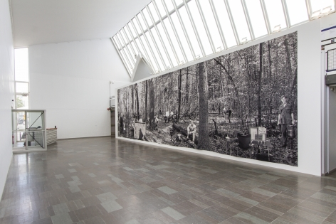 Public Address: Goshka Macuga Tapestries, Lunds Konsthall, Lund, June 14 - August 31, 2014