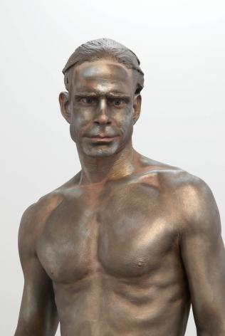 Frank Benson Human Statue (DETAIL), 2009