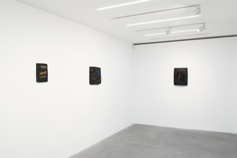 Erika Verzuti: Two Eyes Two Mouths,Alison Jacques Gallery, London