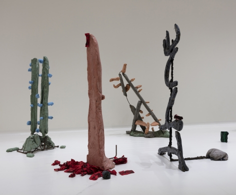 Sightings: Michael Dean: Lost True Leaves, Nasher Sculpture Center, Dallas, TX, October 22, 2016 - February 5, 2017