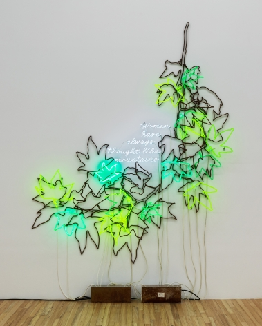 Andrea Bowers, Ecofeminist Sycamore Branches: Women Have Always Thought Like Mountains, 2019