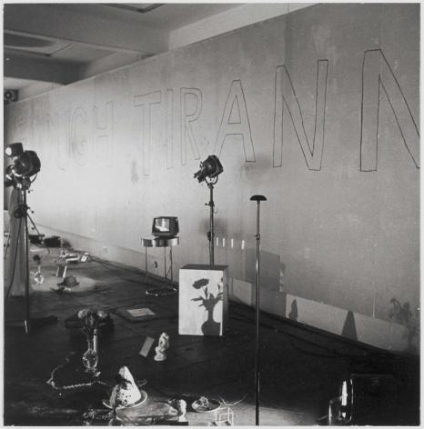 Enough Tiranny, Serpentine Gallery, London1972
