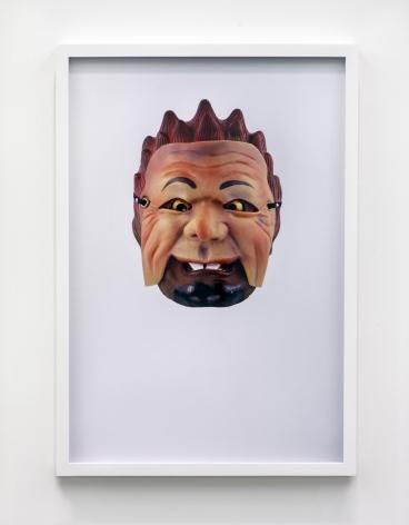 Jamie IsensteinMasks Wearing Masks (Japanese Noh Old Man),2015C-Print24 1/4 x 16 5/8 in (61.6 x 42.2 cm)Edition of 4, with 1 AP