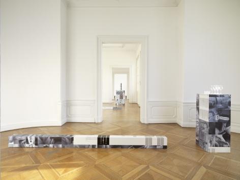 Cheyney Thompson The Completed Reference: Pedestals and Drunken Walks, Kunstverein Braunschweig,Braunschweig