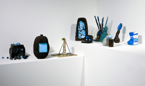 Erika Verzutti: Swan with Stage,Sculpture Center, Long Island City, NYMay 3- August 3, 2015