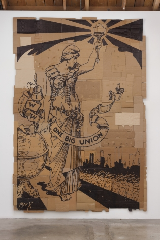 Andrea Bowers One Big Union, 2012