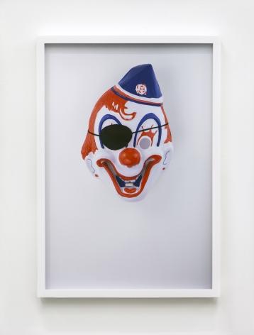 Jamie IsensteinMasks Wearing Masks (Clown Pirate),2015C-Print24 1/4 x 16 5/8 in (61.6 x 42.2 cm)Edition of 4, with 1 AP