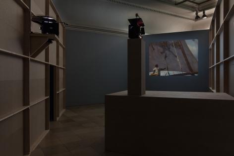Kapsel 05: João Maria Gusmão & Pedro Paiva. Peacock,Haus der Kunst, MunichMay 12 - Sep 18, 2016