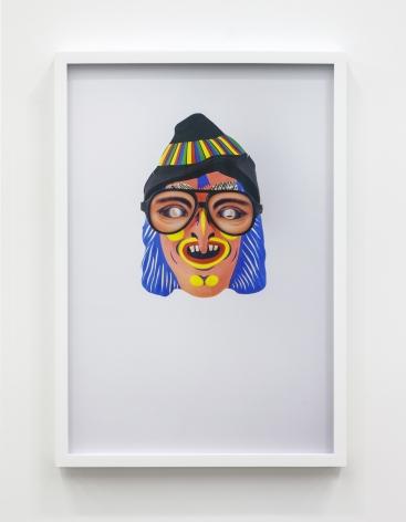 Jamie Isenstein Masks Wearing Masks (Pink Witch Aviator), 2015