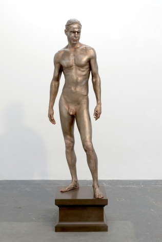Frank BensonHuman Statue, 2009Bronze72 x 22 x 13 in (1.83 m x 55.88 cm x 33.02 cm)