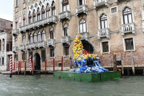 Consider yourself as a guest (Cornucopia), Presented by FTP Industrial at the Ca' Foscari University of Venice (9–11 May 2019) situated on the water of the Grand Canal, and from 12 May–12 June 2019
