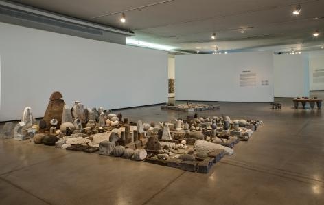 34° Panorama da Arte Brasileira - da pedra da terra daqui,Museu de Arte Moderna de São Paulo, Brazil
