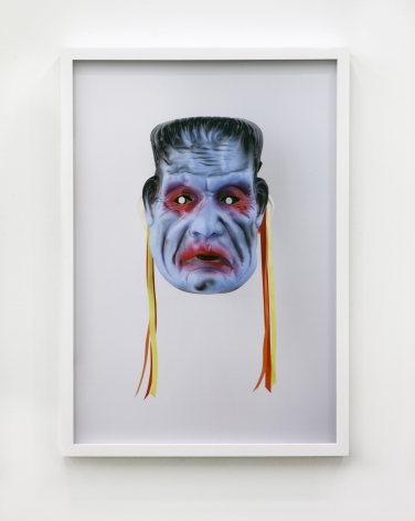 Jamie IsensteinMasks Wearing Masks (Frankenstein),2015C-Print24 1/4 x 16 5/8 in (61.6 x 42.2 cm)Edition of 4, with 1 AP