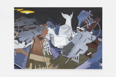 Pádraig Timoney Untitled (Popupmobydick), 2015
