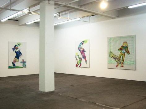 Maria Lassnig Installation view