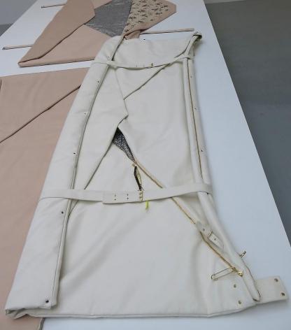 Seth price Rotating Sawtooth Pattern Bag