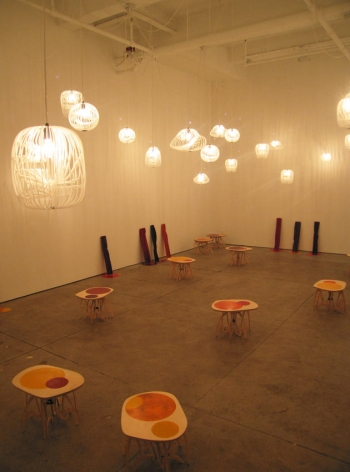 Jorge Pardo Installation view