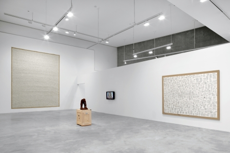 Sean Landers: 1991-1994, Improbable History, Contemporary Art Museum St. Louis, 2010  Installation view