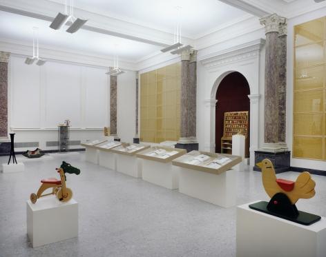Hanne Darboven. Kinder dieser Welt (Children of This World), 1990–96, Installation view, Staatsgalerie Stuttgart, 1997