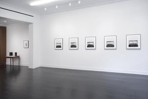 Installation view of A Strange New Beauty, Petzel Gallery, 2020