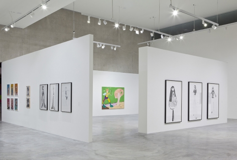 Nicola Tyson, Contemporary Art Museum St. Louis, 2017, Installation view