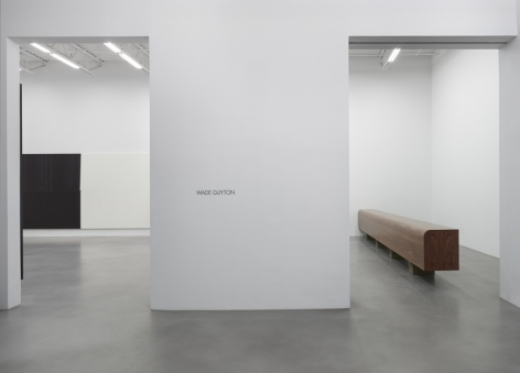 Wade Guyton Installation view 1