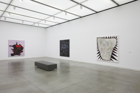 Charline von Heyl,ICA Boston, 2012, Installation view